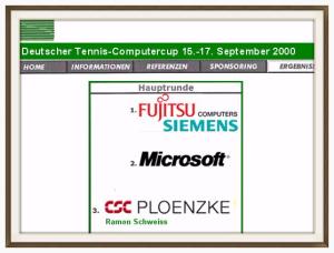 15.-17. September 2000 TC Grün-Weiss Luitpoldpark e.V., München